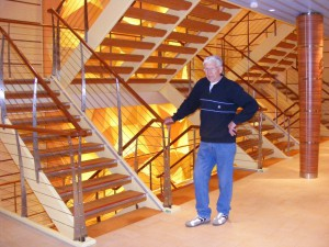 Treppe oder Fahrstuhl?